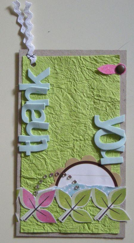 Card tag