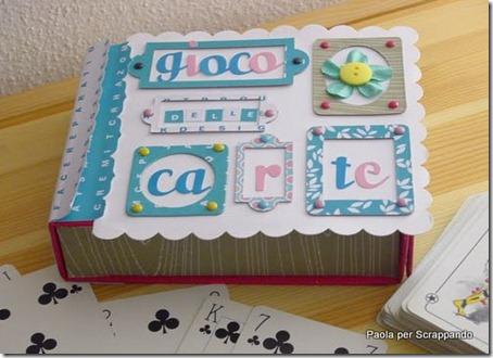 scatola porta carte