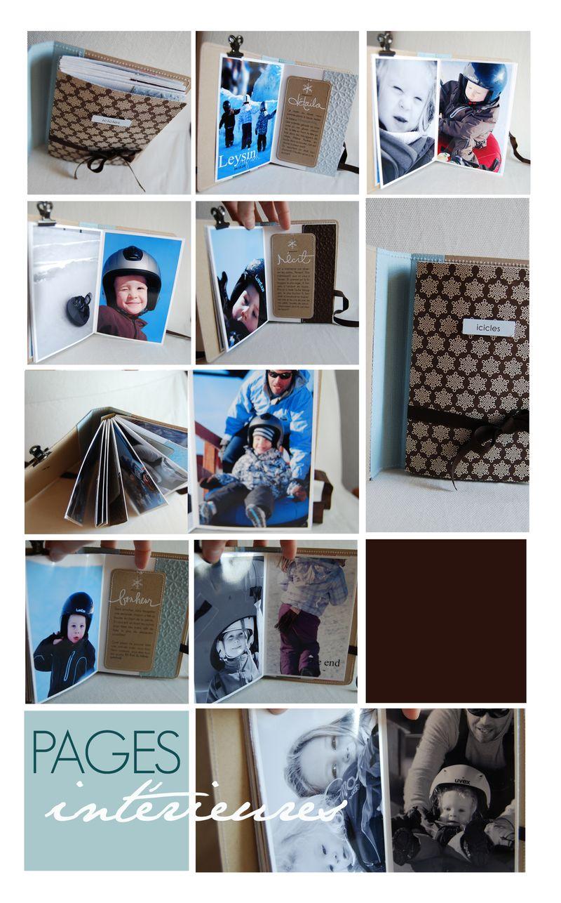 Montage pages intérieures
