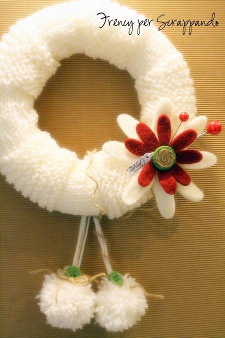 Carta e ricordi ghirlande natalizie for Ghirlande natalizie di carta