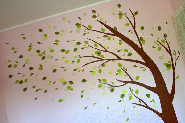 Carta e ricordi home decor con fustelle - Stencil albero da parete ...