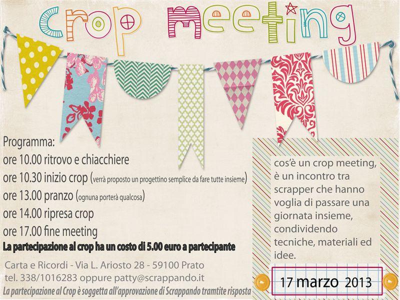 Crop meeting
