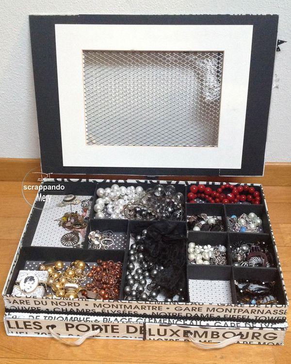 Carta e ricordi scatola portagioie - Costruire un portagioie ...