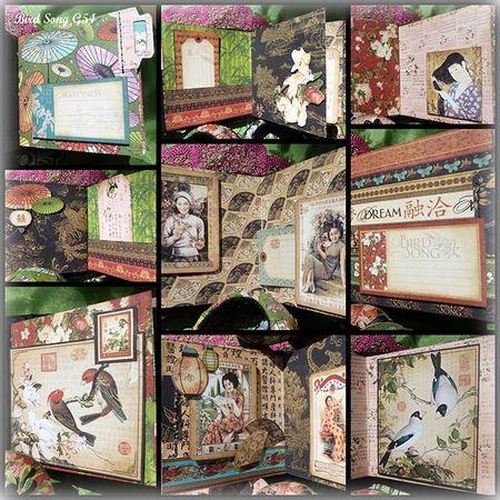 Bird Song Mini collage