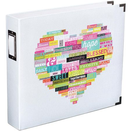 Word Heart Designer Album